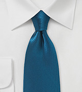 Silk Necktie in Celestial Blue