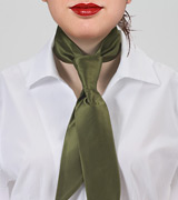Olive Green Women's Necktie