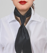 Women's Necktie in Dark Navy