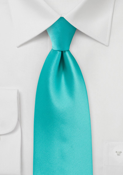 Mint Green Boys Neck Tie