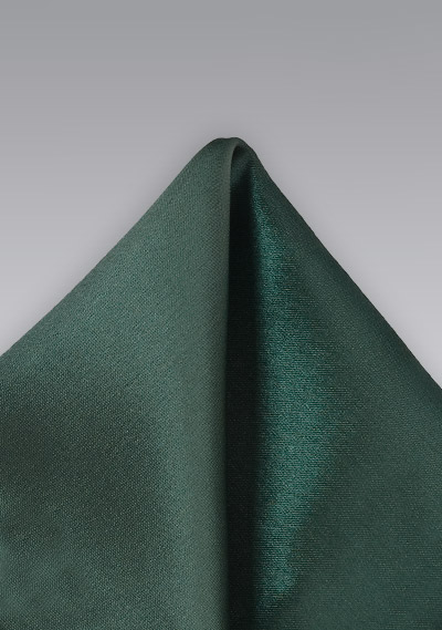 Dark Green Handkerchief for Men