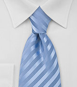 Cornflower Blue Extra Long Tie