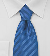 Horizon Blue Mens Neck Tie