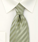 Light Pistachio Green Tie