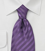 Mens Tie in Lapis-Purple