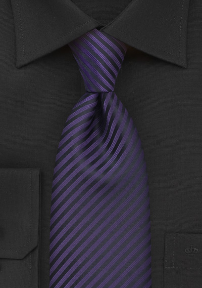 Dark purple mens tie for Ties that go with purple shirts