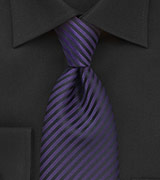 Dark Purple Mens Tie