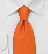 "Netherlands Soccer Fan Tie in ""Oranje"""