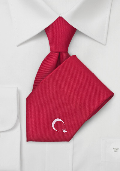 Turkey Soccer Fan Tie