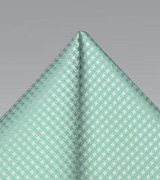 Summer Pocket Square in Clover Green