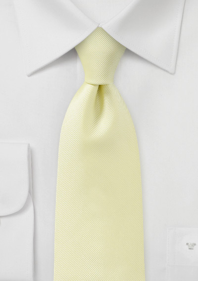 Citrine Yellow Kids Necktie