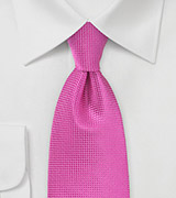 Extra Long Tie in Paradise Pink