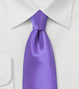 Bright Colored Tie in Opulent Purple