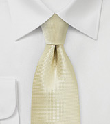 Festive Champagne Colored Necktie