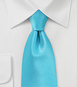 Bright Colored Kids Tie Bluebird Turquoise