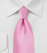 Summer Designer Tie in Carnation Pink