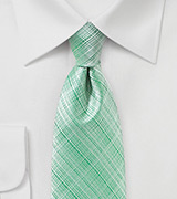 Modern Tie in Neptune Green