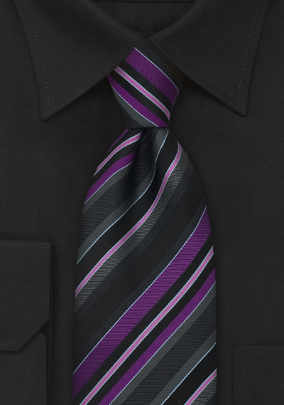 Purple Dress Shirt Mens